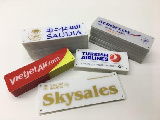 Non-Metallic Nameplate