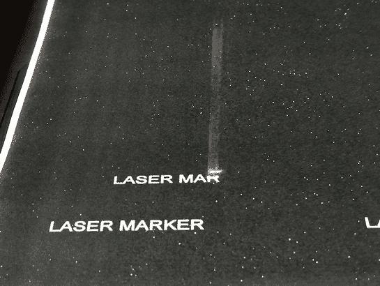 Laser Marked
